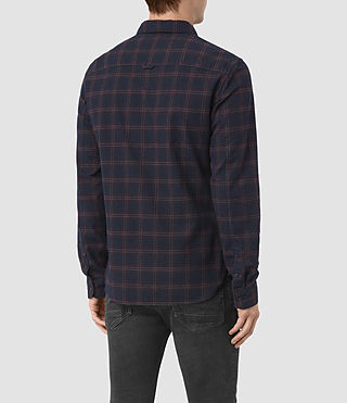 Uomo Colfax Ls Shirt (Ink Check) - product_image_alt_text_3