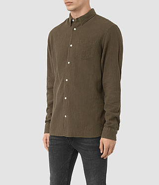 Men's Medora Shirt (Khaki) - product_image_alt_text_2