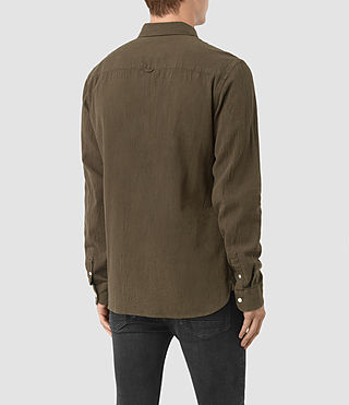 Men's Medora Shirt (Khaki) - product_image_alt_text_3