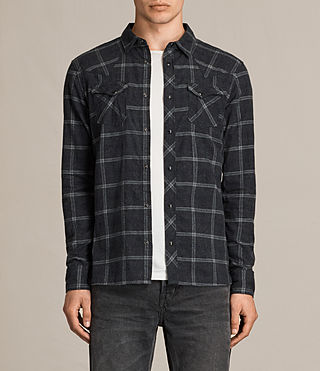 Mens Realitos Shirt (Charcoal BaseCheck)