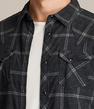 Herren Realitos Shirt (Charcoal BaseCheck) - product_image_alt_text_2