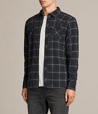 Herren Realitos Shirt (Charcoal BaseCheck) - product_image_alt_text_3