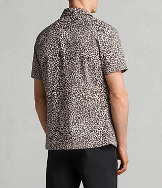 Hombres Camisa Apex (Light Brown) - Image 4