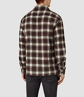 Uomo Orofino Shirt (Red check) - product_image_alt_text_4