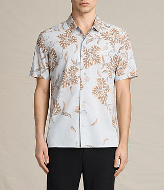 Hombre Kauai Ss Shirt (COOL GREY) - product_image_alt_text_1