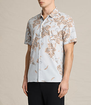 Hombre Kauai Ss Shirt (COOL GREY) - product_image_alt_text_2