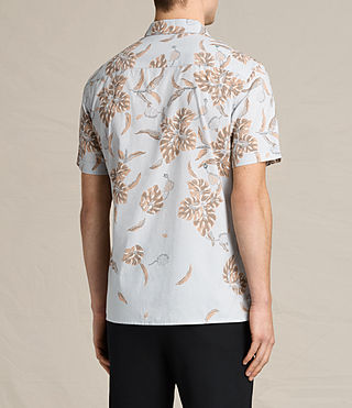 Hombre Kauai Ss Shirt (COOL GREY) - product_image_alt_text_3