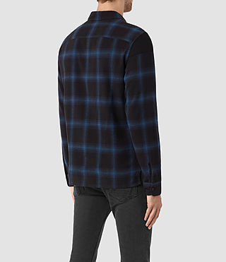 Men's Nanaimo Shirt (Blue Check) - product_image_alt_text_3
