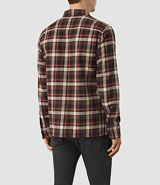 Hombre Dayton Shirt (Red check) - product_image_alt_text_3