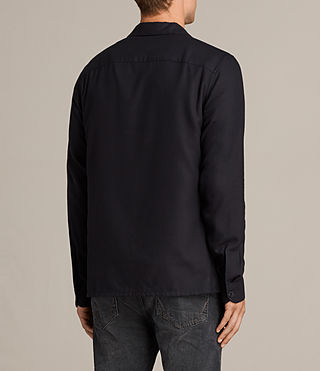 Men's Wheeler Shirt (Dark Ink) - product_image_alt_text_5