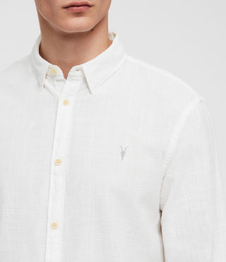 Hombres Camisa Dulwich (White) - Image 2