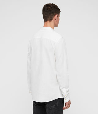 Hombres Camisa Dulwich (White) - Image 4