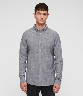 Hombre Camisa Dulwich (Light Grey) - Image 1