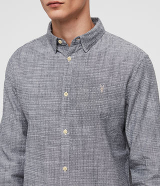 Hombre Camisa Dulwich (Light Grey) - Image 2