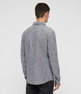 Hombre Camisa Dulwich (Light Grey) - Image 4