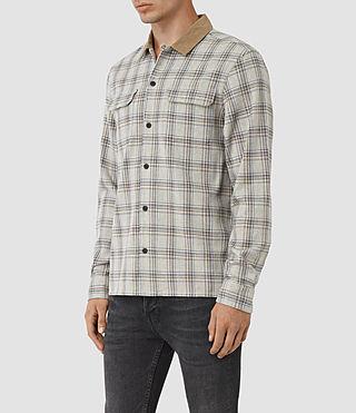 Mens Hemet Shirt (Grey Check) - product_image_alt_text_2