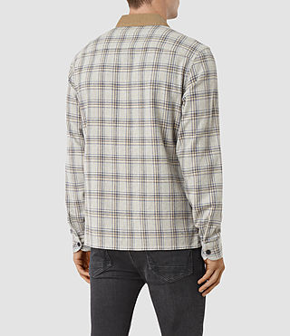 Men's Hemet Shirt (Grey Check) - product_image_alt_text_3
