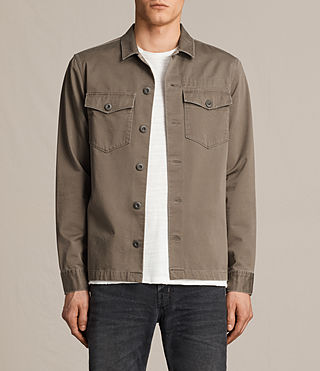 Mens Firebase Shirt (Light Khaki) - product_image_alt_text_1