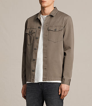 Mens Firebase Shirt (Light Khaki) - product_image_alt_text_2