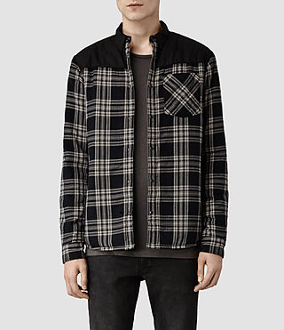 Mens Dearborn Shirt (Black Check)