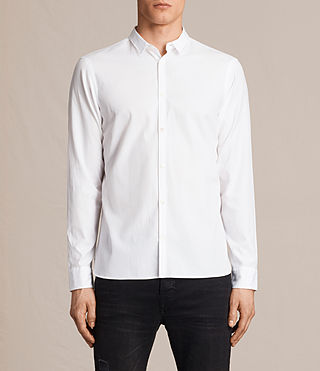 Mens Braddock Shirt (White) - product_image_alt_text_1