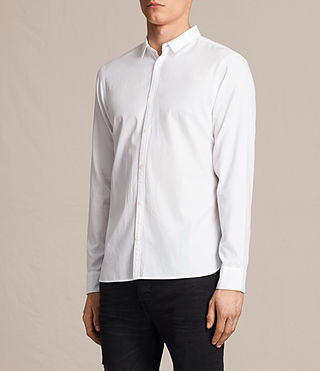 Hombres Braddock Shirt (White) - product_image_alt_text_2