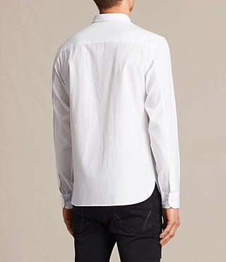 Hombres Braddock Shirt (White) - product_image_alt_text_3