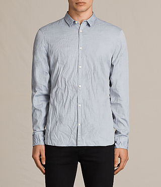 Hombre Camisa Braddock (Light Grey) - product_image_alt_text_1