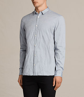 Men's Braddock Shirt (Light Grey) - product_image_alt_text_3