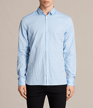 Mens Braddock Shirt (Light Blue) - product_image_alt_text_1