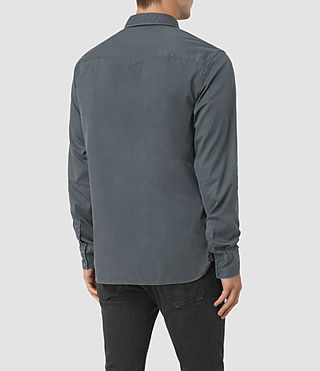 Herren Frackville Ls Shirt (Workers Blue) - product_image_alt_text_3