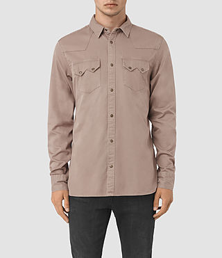 Mens Frackville Shirt (MUSHROOM TAUPE) - product_image_alt_text_1