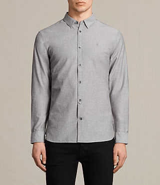Mens Tulare Shirt (Grey)