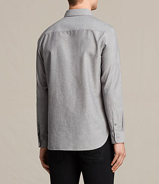 Hombres Camisa Tulare (Grey) - product_image_alt_text_4