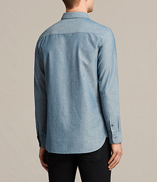Men's Tulare Shirt (Blue) - product_image_alt_text_4