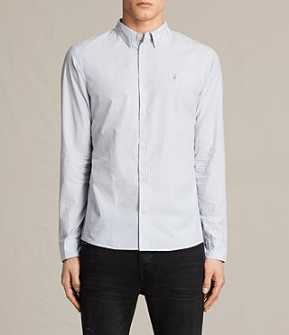 Hommes Rocklin Shirt (Light Grey)