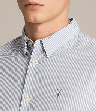Men's Rocklin Shirt (Light Grey) - product_image_alt_text_2