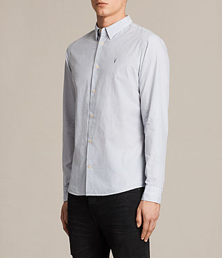 Men's Rocklin Shirt (Light Grey) - product_image_alt_text_3