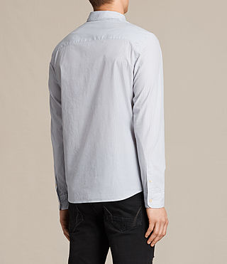 Men's Rocklin Shirt (Light Grey) - product_image_alt_text_4
