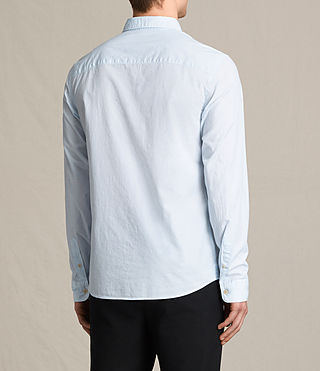 Mens Kelso Shirt (LIGHT BLUE STRIPE) - product_image_alt_text_4