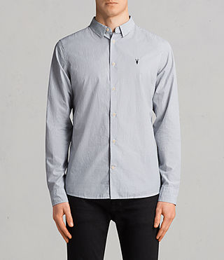 Mens Kelso Shirt (INK STRIPE) - Image 1