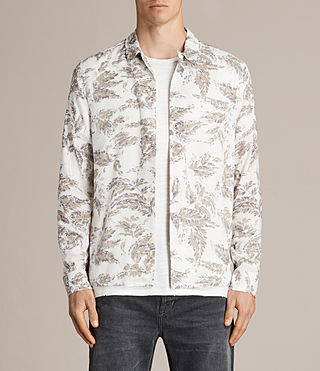 Mens Birch Shirt (ECRU WHITE) - Image 1