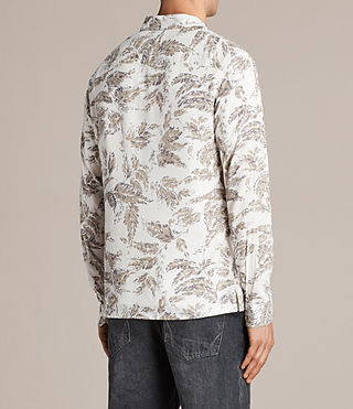 Mens Birch Shirt (ECRU WHITE) - Image 4