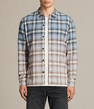 Men's Cerritos Shirt (TEMPEST BLUE) - product_image_alt_text_1