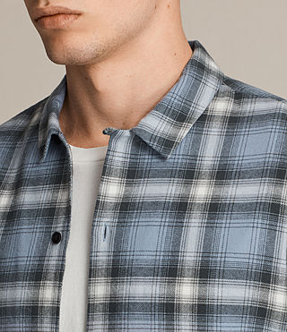 Men's Cerritos Shirt (TEMPEST BLUE) - product_image_alt_text_2