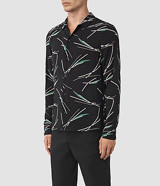 Hombres Moreland Shirt (Black Base) - product_image_alt_text_2