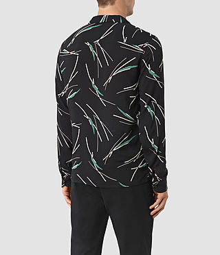 Uomo Moreland Shirt (Black Base) - product_image_alt_text_3