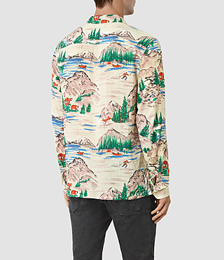 Men's Redfern Shirt (Ecru) - product_image_alt_text_3