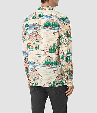 Hombre Redfern Ls Shirt (Ecru) - product_image_alt_text_3