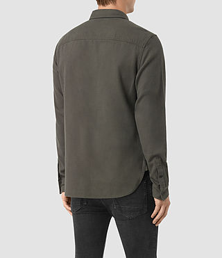 Mens Sereno Shirt (Pewter) - product_image_alt_text_2